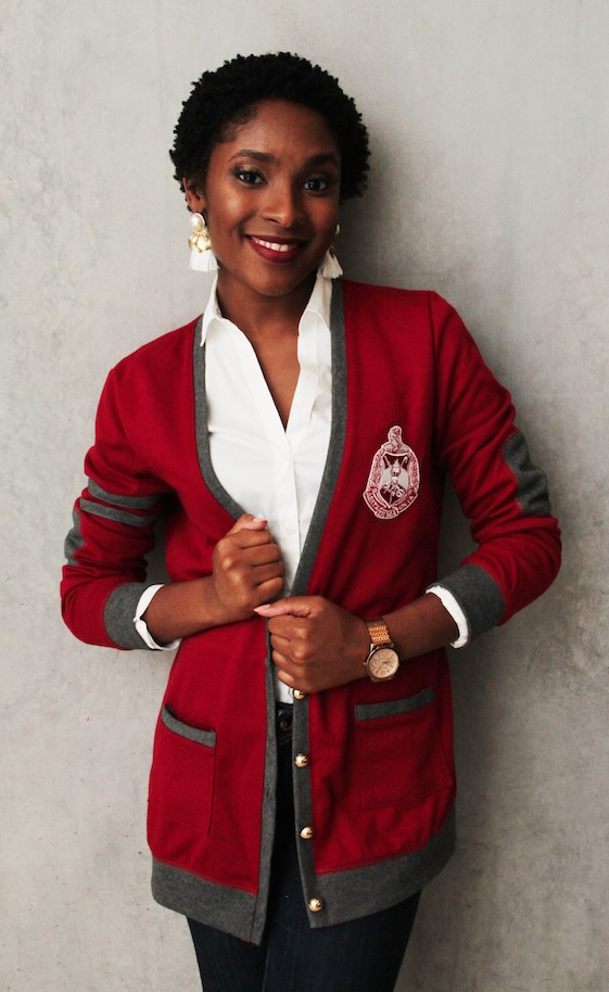 Sacred heart collections - Delta sigma theta sorority cardigans ...